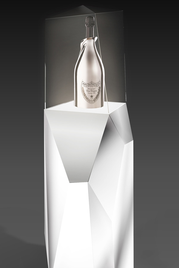 bienenstein concepts projects display domperignon white gold jeroboam
