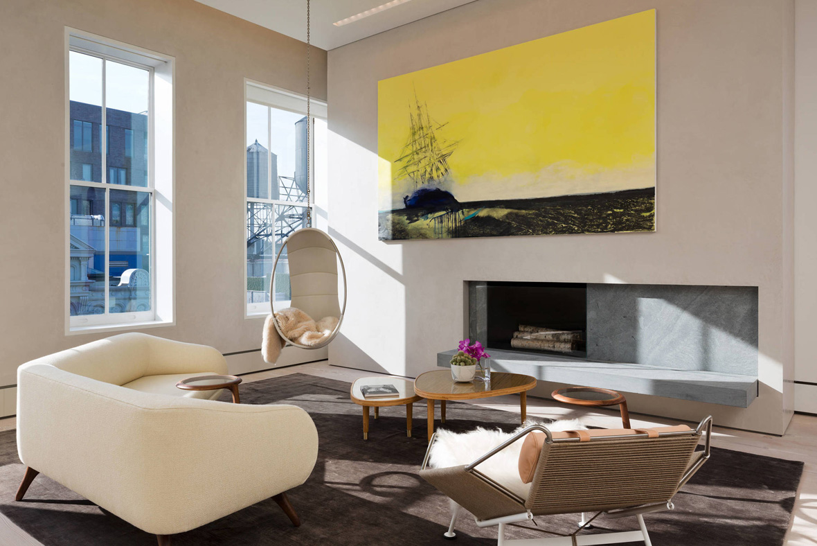bienenstein concepts projects residential soho loft nyc lounge 3