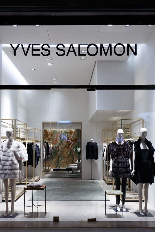 bienenstein concepts projects retail yvessalomon store casablanca facade
