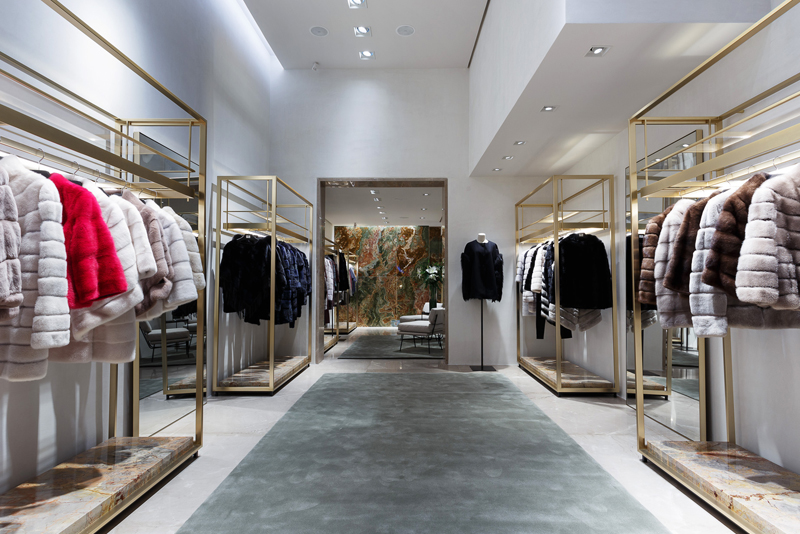 bienenstein concepts projects retail yvessalomon store casablanca interior