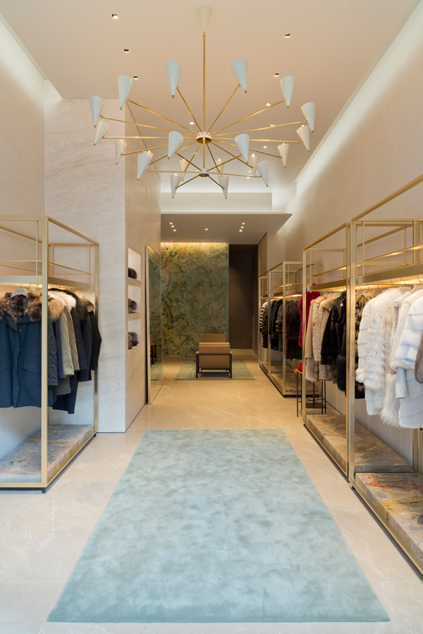 bienenstein concepts projects retail yvessalomon store madisonavenue nyc interior 2